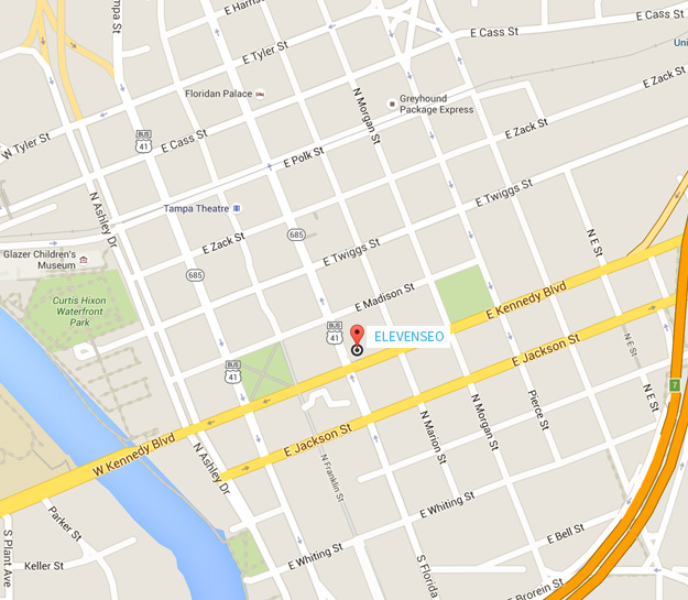 Eleven SEO Location - Tampa, FL Map